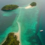 Just some of the lovely islands we can take you to explore on a two to seven day charter