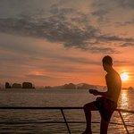 Sunset in Phang Nga Bay