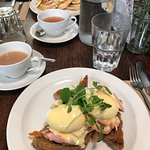 Breakfast at Edinburgh Larder