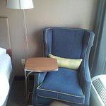 old stuffed chair
