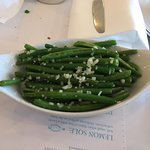 Green beans with shallots and rosemary
