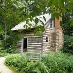 UNC graduate and playwright Paul Green did much of his writing in this simple log cabin.