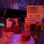 Burger & a pint