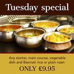 Tuesday spacial offer only £9.95