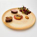 Lamb,celleriac and oyster mushroom.