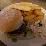HM venison burger