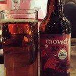 Bottle of Mowdy Pale Ale.
