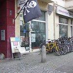 Bike shop outside