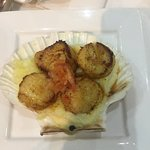 Tasty Scallops dish- Starter