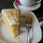 Triple Orange Cake and Flat White