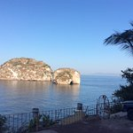 Los Arcos from the shore