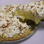 Homemade Coconut Cream Pie!