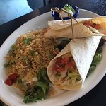 Fish Taco with rice