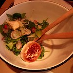 Goat cheese salad. The best of what we had