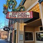 Historic 25th Street sign