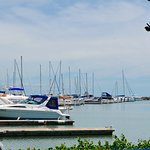 Marina views, perfect for a day, lunch or evening out!
