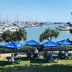 Location, Location, Location; glorious grass and pristine Marina views.