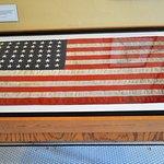 Flag from USS Arizona