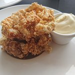 Salt and Pepper squid with aioli