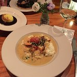Shrimp and grits - heavenly!