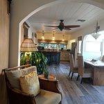 Garden Cottage Living space & kitchen