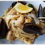 Seafood Linguine to perfection
