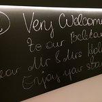 Welcome blackboard