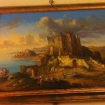 Altro quadro ( Castello di Erice nel seicento ) .