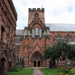 Carlisle Cathedral, outside view