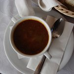 Cup of goulash.