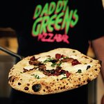 Neapolitan-NY style pizza at Daddy Greens Pizzabar in Töölö, Helsinki