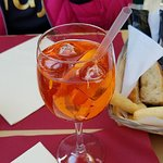 Spritz and bread