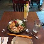Tea Leaf Salad and Ginger Lemonade