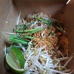 My Pad Thai dish.