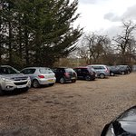 LARGE FREE CAR PARK FOR RESIDENTS able to hold over 15 vehicles. Parking permits also available