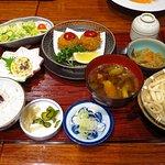 川越 紅芋御膳 / Set meal of Kawagoe special product potato