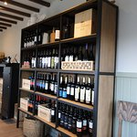 Restaurant Panoramico's superb selection of local wines we chose from for our meals