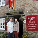 Outside of the Dolphin Inn