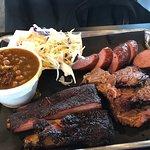 Brisket - ribs and sausage