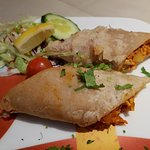 Chicken Momo - Jalfrezi-hot (on request)