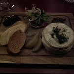 Small baked camembert