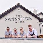 Swynnerton Arms team