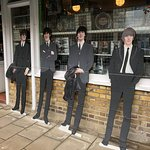 Beatles gift shop at Abbey Road