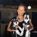 Lara and her puppies
