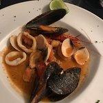 Sauteed Seafood Antipasto