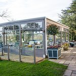 Our outdoor Terrace - perfect for dining in the summer months!