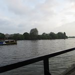 River view (The Dove, London)