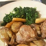 so tasty and tender pork and apple