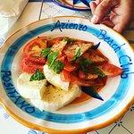 Bagni d'Arienzo Beach Club: Caprese Salad