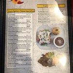 Photos of menu